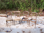 Potts Antique Dining Chairs