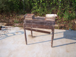 Potts Antique Walnut Writing Desk Restoration