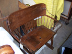 Antique Stagecoach Bench Restoration