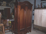 Antique Walnut Armoire Restoration