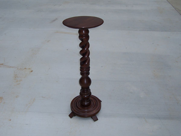 Antique Pedestal Restoration