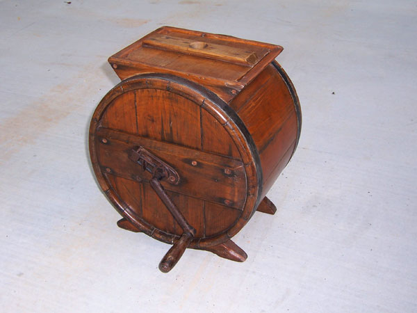 ique Butter Churn Restoration